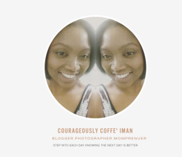 COURAGEOUSLY COFFE' IMAN